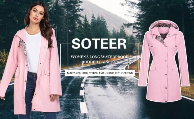 waterproof rain jacket lightweight