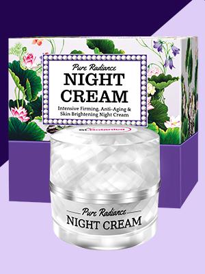 0911ab34 3a8c 45f5 aaa0 85351ee11dff.  CR0,0,300,400 PT0 SX300 V1    - StBotanica Pure Radiance Night Cream - Intensive Firming, Anti-Aging & Skin Brightening, 50gm (With Vitamin C, Retinol, Hyaluronic acid, Collagen)