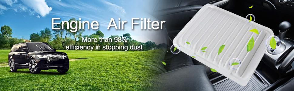 mikkuppa toyota engine air filter