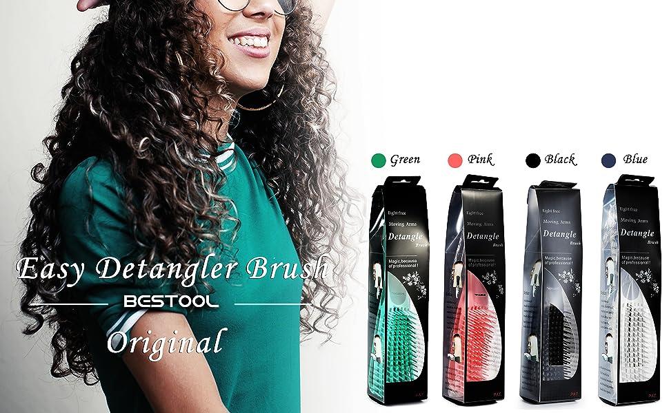 detangling brush for balck natural hair