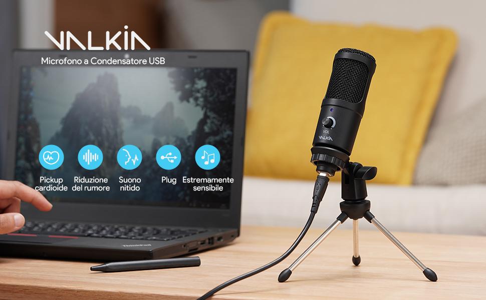 Microfono USB-1