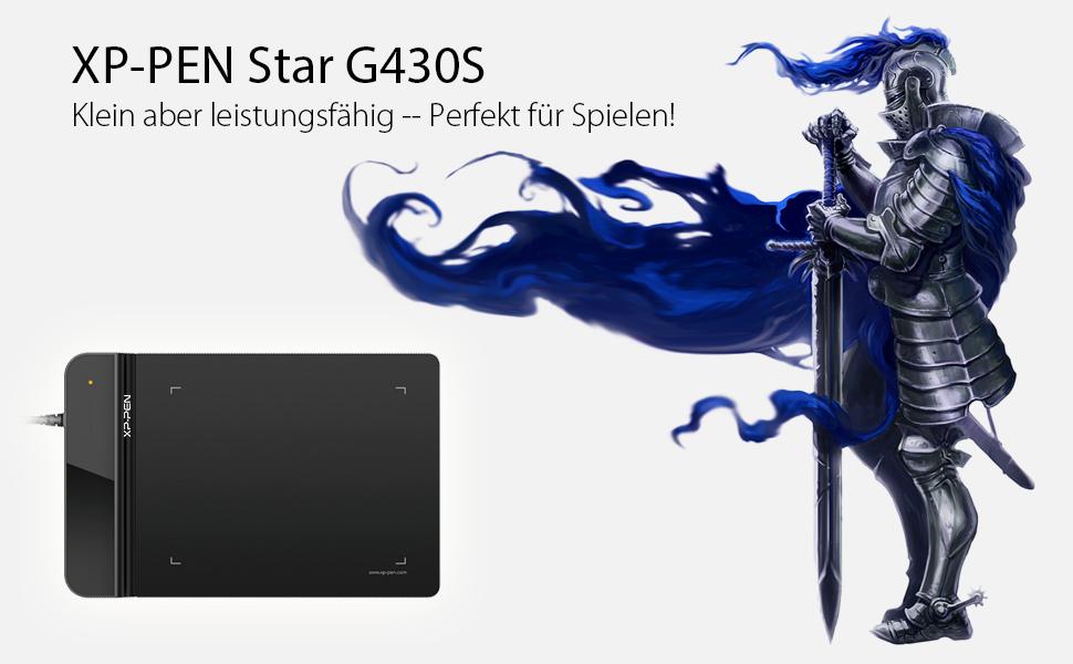 XP PEN Star G430S grafikus tábla
