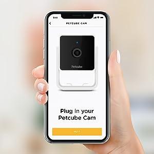 pet camera installation