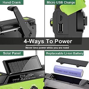 4 WAYS TO POWER
