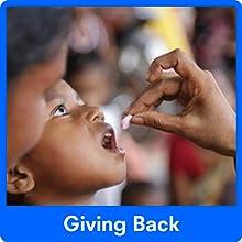giving back, charity, vitamins