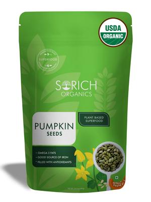 pumpkin seeds packet
