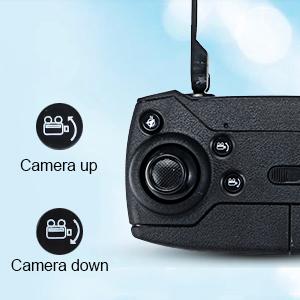 Remotely control camera
