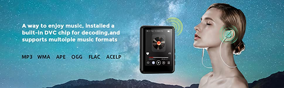 Searick MP3 Player - Immerse Yourself in Music