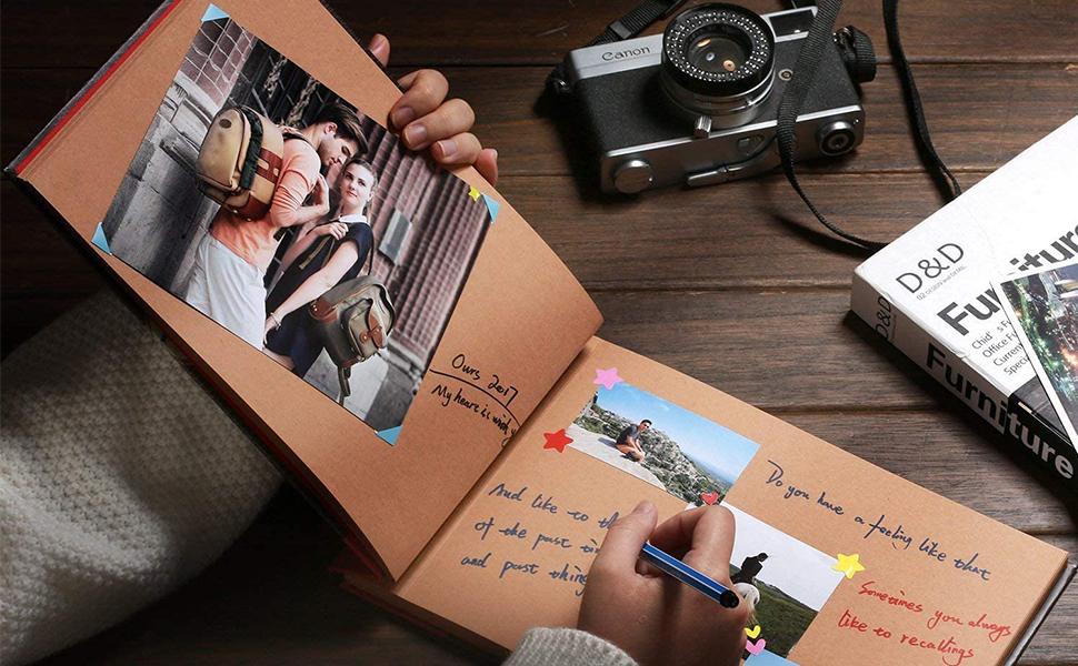 amica del anniversario portafoto gadget uomo festa idea ragazza libro matrimonio casa instax coppia