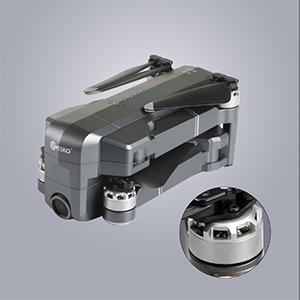 Brushless Motors with Folding Capability