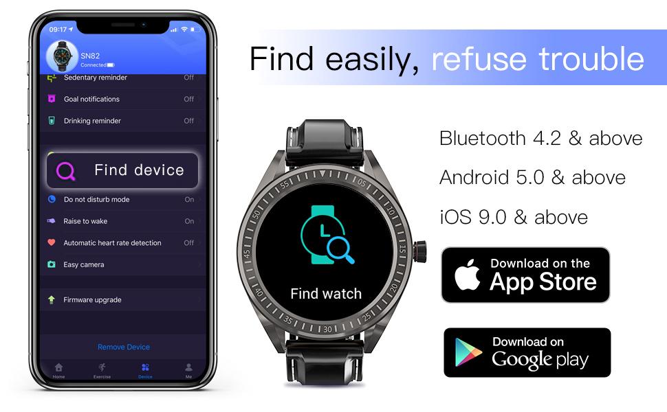 find watch