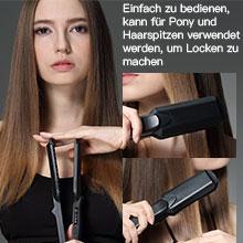 Multifunctional hair straightener.