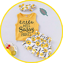tanks top outfits for baby girl