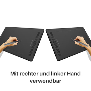 Bal és jobb kézzel egyaránt használható.