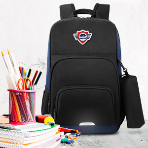 Casual Daypack with Reflective Strips and Chest Strap