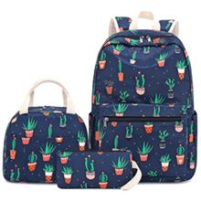 cactus backpack navy