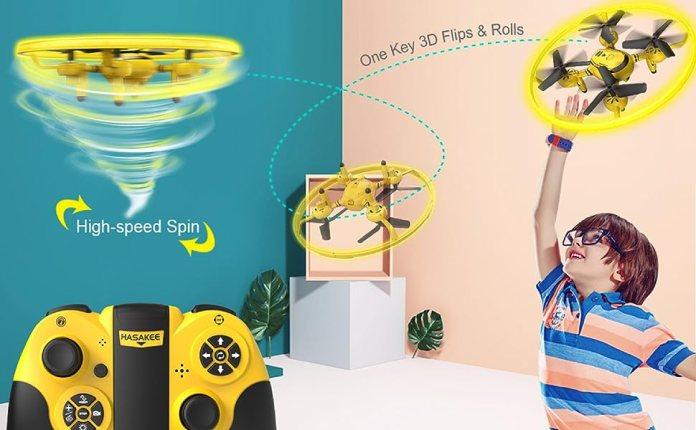 drones with 3d flips