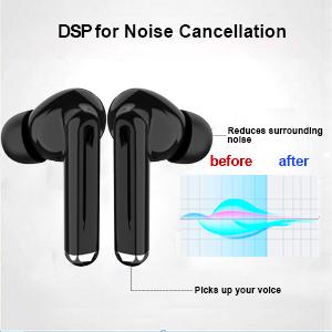 headphones in ear