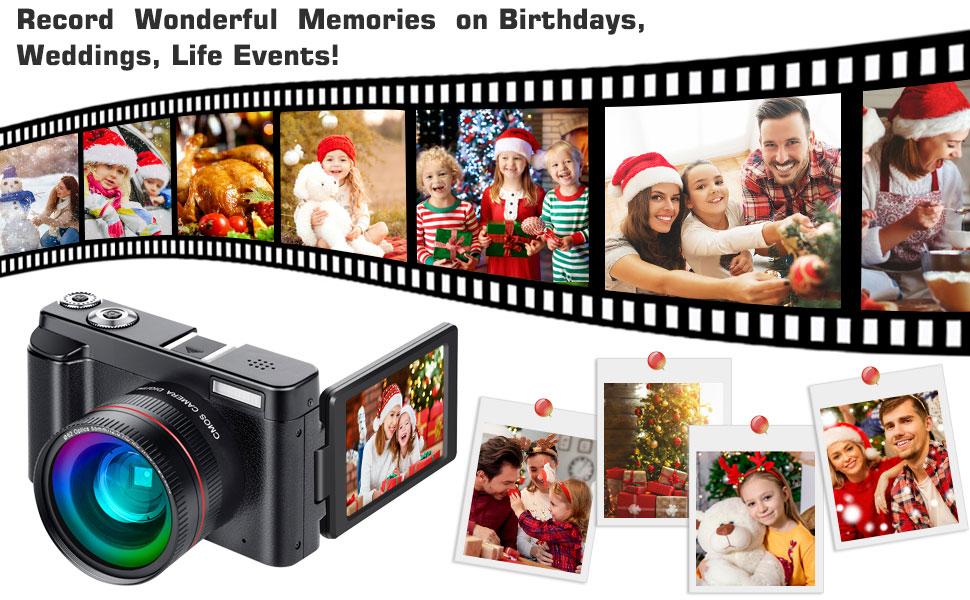 Digital Camera Record Wonderful Memories