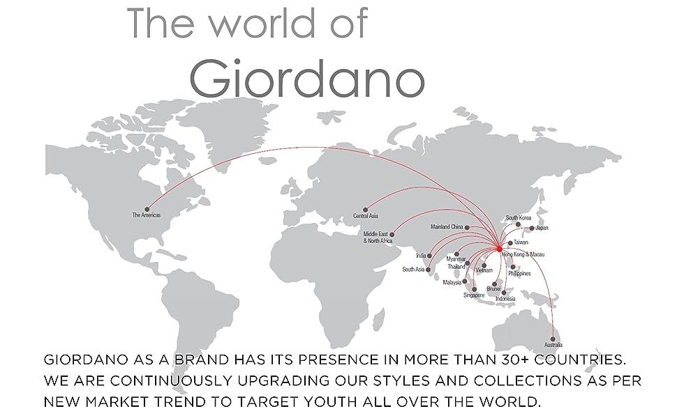 Giordano Mens footwear