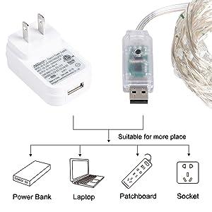 USB + ADAPTOR