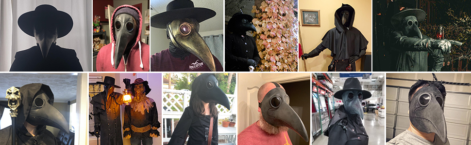 Plague Doctor Mask real reviewer