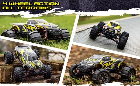 4 wheel action - all terrains