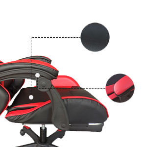 Adjustable gaming chair