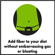reduce gas bloating