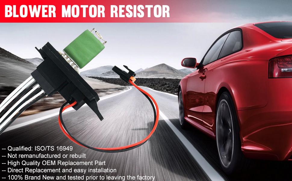 2003-2006 Cadillac Escalade ESV blower motor resistor