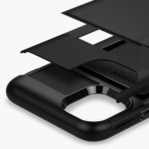 iphone 11 slim armor cs - black