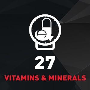 27 Vitamins & Minerals