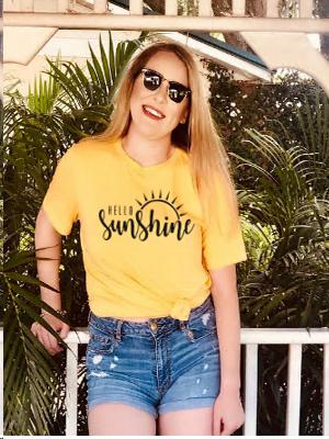 hello sunshine shirt
