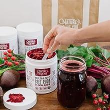 organic beet root powder