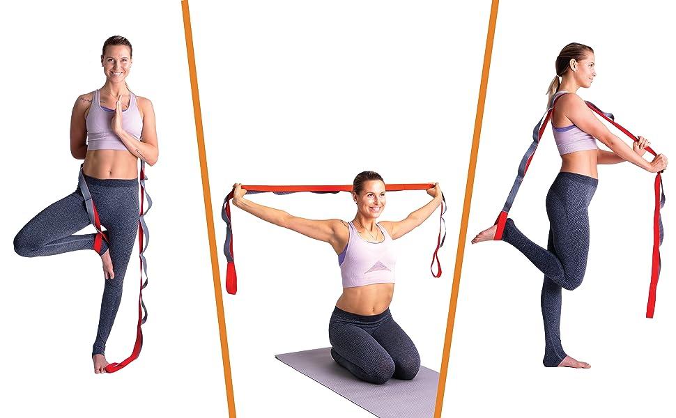 yoga, pilates, strength, flexibility!