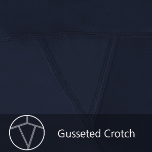 gusseted crotch