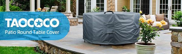 patio round table cover