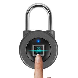 Fingerprint Smart Keyless Waterproof Bluetooth Lock APP Control Waterproof Security Padlock