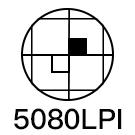 Résolution 5080 LPI