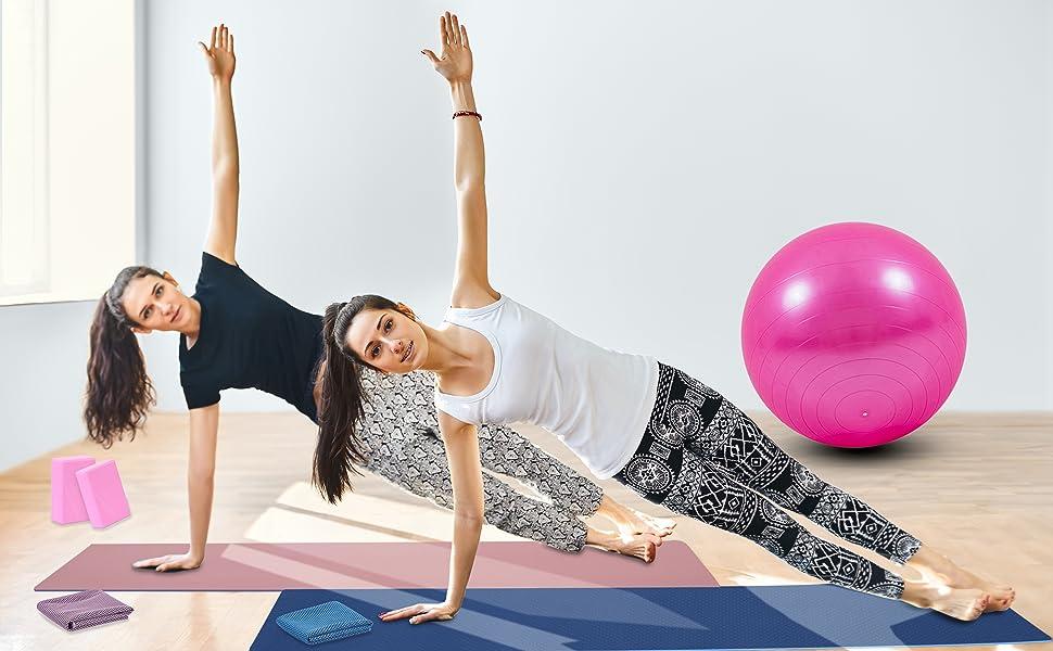 yoga mat sets for beginners