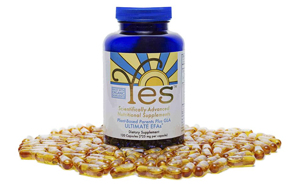 Yes EFA Essential Fatty Acid Capsules