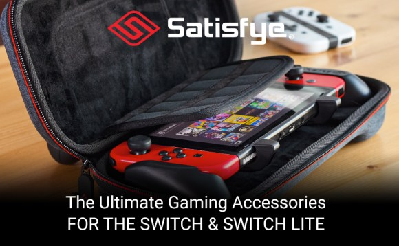 SwitchGrip Pro Slim Bundle Satisfye Ultimate Switch and Switch Lite Accessories