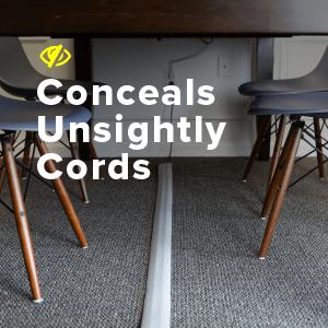 conceals cords