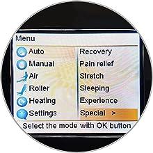 Auto Massage Programs