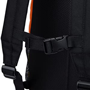 Chest Strap Adjustable Buckle Padded Back
