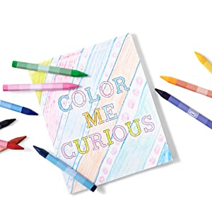 completed on the go coloring book colors colorful arts and craft kit