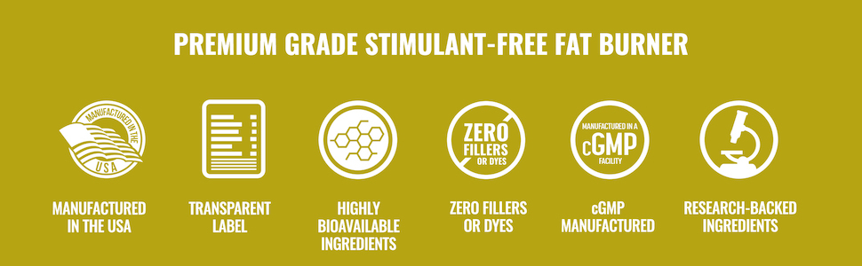 Premium Grade Stimulant-Free Fat Burner