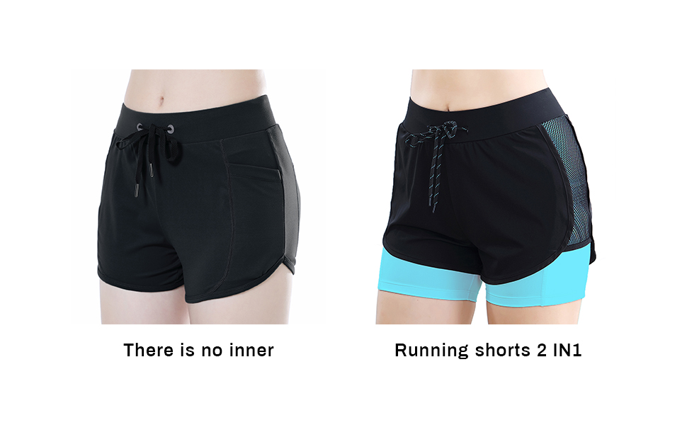 Women activewear shorts