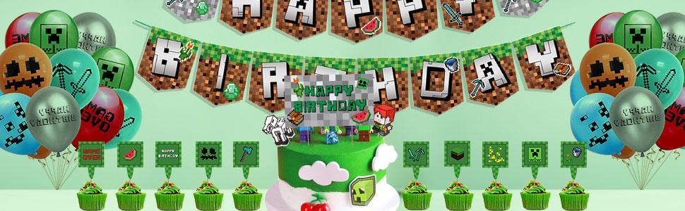 Perfekte Video Game Partyzubehör Thema