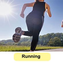 running waist trimmer